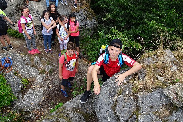 Wandertag: 1a und 1c-Sportklasse